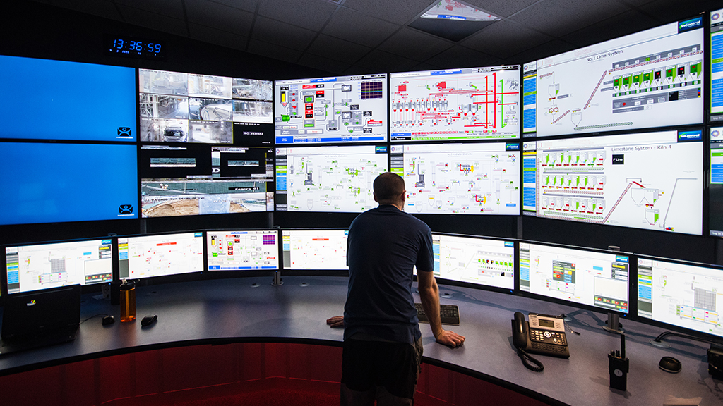 Newly designed central control room